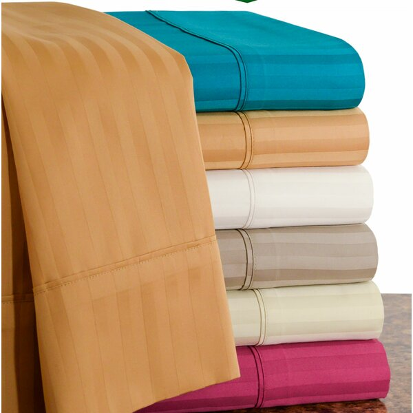 450 Thread Count 100% Egyptian Quality Cotton Sateen Sheet Set by Hotel New York